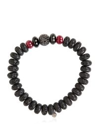Ocnarf Sairutsa | Red Rock And Raw Bracelet | Lyst