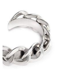 Philippe Audibert | Metallic Large Chain Cuff | Lyst