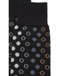 Paul Smith | Black Polka Spot Socks for Men | Lyst