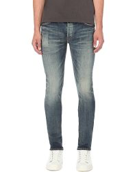 Mastercraft Union | Blue Skinny Woven Denim Jeans for Men | Lyst