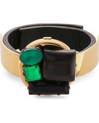 Marni | Black Horn-embellished Bracelet - For Women | Lyst