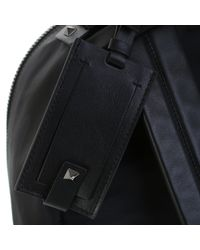 Valentino - Black Nylon Camunoir Backpack for Men - Lyst