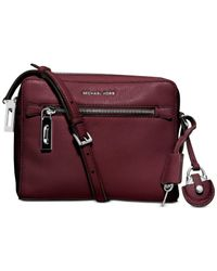 Michael Kors | Purple Michael Zoey Medium Messenger | Lyst