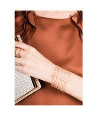 Henri Bendel | Metallic Luxe Fine Lines Strands Bracelet | Lyst