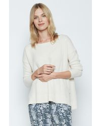 Joie - White Kashani Sweater - Lyst