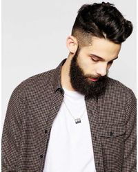 Cheap Monday - Metallic Plate Necklace Exclusive To Asos for Men - Lyst