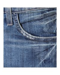 Current/Elliott - Blue The Stiletto Skinny Jeans - Lyst