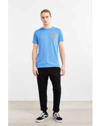 Urban Outfitters | Blue New York Knicks Vintage Logo Tee for Men | Lyst