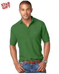 Tommy Hilfiger | Green Classic-fit Ivy Polo for Men | Lyst
