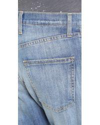 Current/Elliott - Blue Goldminer Pleated Boyfriend Jeans - Tulsa - Lyst