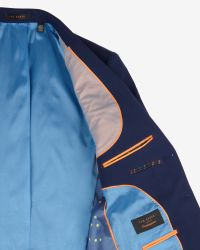 Ted Baker - Blue The Commuter Cycling Suit Jacket for Men - Lyst