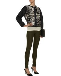 Isabel Marant - Black Bremon Printed Calf Hair And Wool-felt Jacket - Lyst