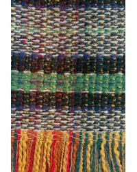 Philosophy Di Lorenzo Serafini - Gray Fringed Wool Skirt - Multicolor - Lyst