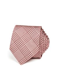 Paul Smith - Pink Plaid Skinny Tie for Men - Lyst