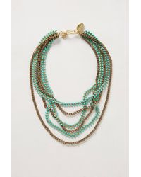 Anthropologie - Blue Kudzu Layered Necklace - Lyst