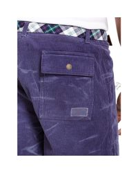 Polo Ralph Lauren - Blue Straight-fit Corduroy Short for Men - Lyst