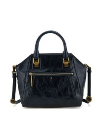 Elliott Lucca | Blue Faro Leather City Satchel | Lyst