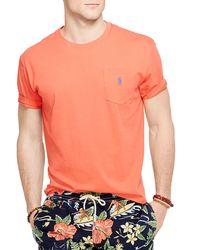 Pink Pony | Orange Custom-fit Floral Polo Shirt for Men | Lyst