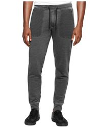 Calvin Klein Jeans | Black Burnout Joggers for Men | Lyst