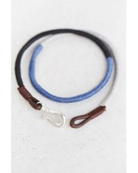 Urban Outfitters - Multicolor Three Shades Wrap Bracelet for Men - Lyst