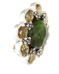 Stephen Dweck | Green Quartz Button Earrings | Lyst
