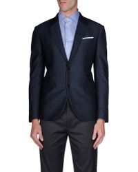 Neil Barrett - Blue Blazer for Men - Lyst