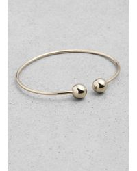 & Other Stories | Metallic Orb Bracelet | Lyst