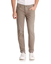 Rag & Bone | Gray Standard Issue Fit 2 Distressed Pants for Men | Lyst