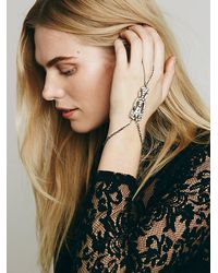Free People - Metallic Deco Stone Handpiece - Lyst