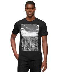 Calvin Klein Jeans | Black Cityscape Logo Graphic T-shirt for Men | Lyst