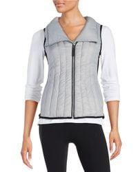Calvin Klein | Gray Performance Puffer Vest | Lyst