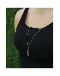 Yossi Harari - Metallic Lilah Evil Eye Diamond Necklace - Lyst