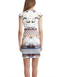Clover Canyon - Rose Dress Red Multi - Lyst