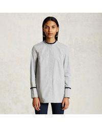 Trademark | Gray Fringe Shirt | Lyst
