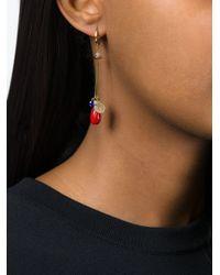 Isabel Marant - Metallic Lucky Charm Earrings - Lyst