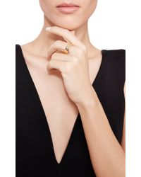 Efva Attling | Metallic One Of A Kind Now Or Never Ring | Lyst