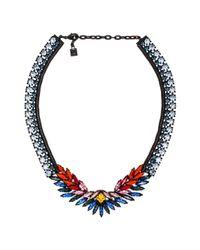 DANNIJO | Blue Rivington Necklace | Lyst