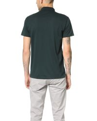 Theory | Green Sandhurst Current Polo for Men | Lyst