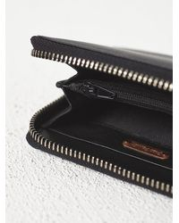 Free People | Black Womens Ashford Leather Wallet | Lyst