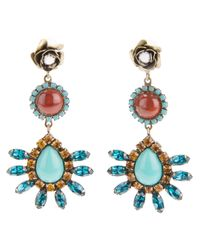 DANNIJO | Multicolor Luana Earrings | Lyst