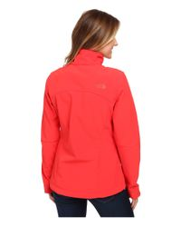 The North Face - Red Apex Bionic Jacket - Lyst