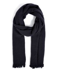 Rag & Bone | Blue Pennywhistle Scarf in Eggplant for Men | Lyst