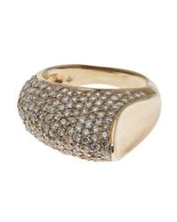 House of Waris | Brown 'Thorn' Ring | Lyst