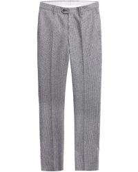 Jules B - Gray Wool Houndstooth Trousers for Men - Lyst