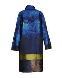 Alberta Ferretti - Blue Full-length Jacket - Lyst