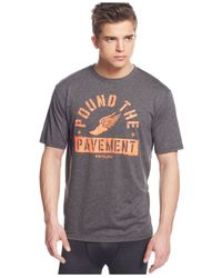 Under Armour | Gray Men's Pound Pavement Performance T-shirt for Men | Lyst