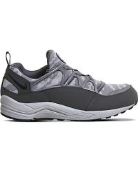 Nike | Gray Air Huarache Light Mesh Trainers for Men | Lyst