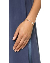 Vita Fede - Pink Mini Titan Stone Bracelet - Rose Gold/pearl - Lyst