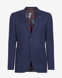 Ted Baker | Blue Deluxe Cashmere-blend Jacket for Men | Lyst