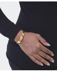 Marc Jacobs | Metallic Enamel Hinge Cuff | Lyst